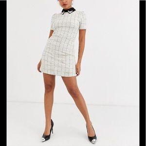 Petite Grid Dress